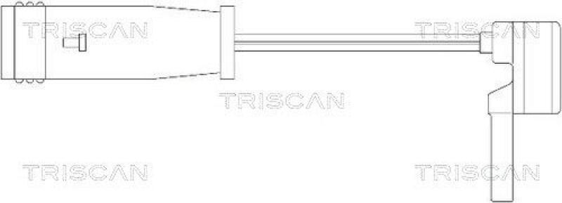 TRISCAN Warnkontakt, Bremsbelagverschleiß