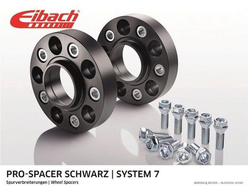 EIBACH Spurplatten Spurverbreiterung Distanzscheibe Ø66,45 5x112 50mm // 2x25mm