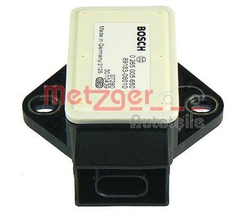 METZGER Sensor, Längs-/Querbeschleunigung ORIGINAL ERSATZTEIL