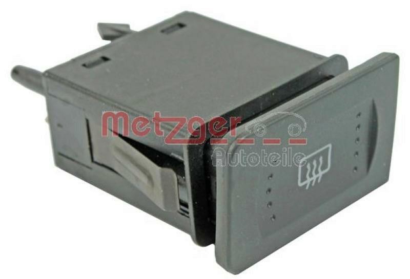 METZGER Schalter, Heckscheibenheizung Original Ersatzteil
