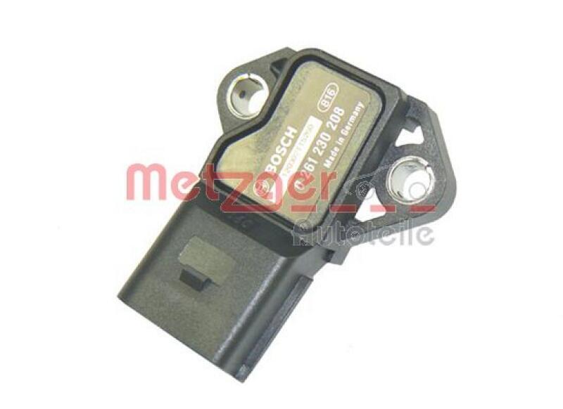 METZGER Sensor, Ladedruck ORIGINAL ERSATZTEIL