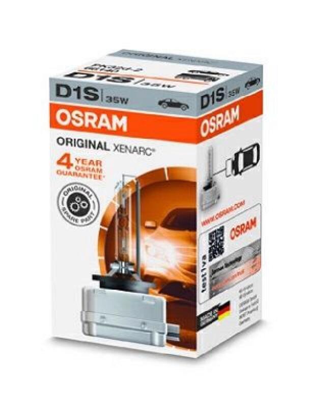 OSRAM Xenon Hauptscheinwerfer Glühlampe