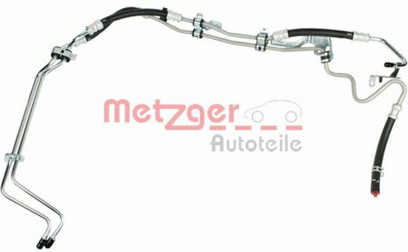 METZGER Hydraulikschlauch, Lenkung ORIGINAL ERSATZTEIL