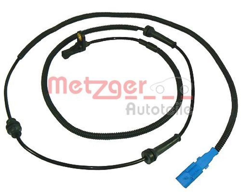 METZGER Sensor, Raddrehzahl 4545.A5