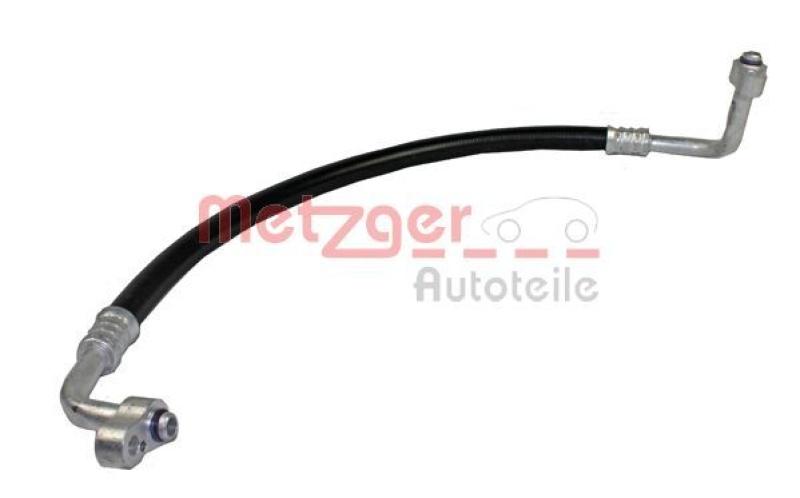 METZGER Hochdruck-/Niederdruckleitung, Klimaanlage ORIGINAL ERSATZTEIL