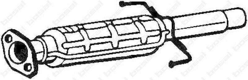 BOSAL Ruß-/Partikelfilter, Abgasanlage