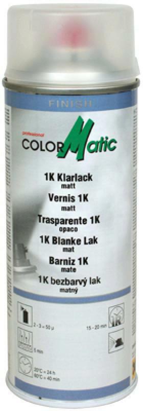 COLORMATIC 1K Klarlack matt 400ml