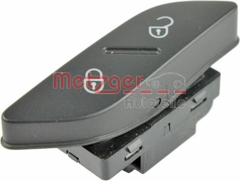 METZGER Schalter, Türverriegelung Original Ersatzteil