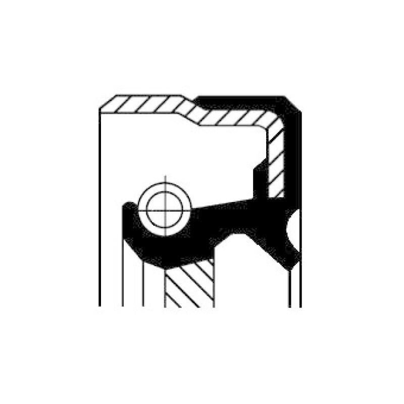 CORTECO Wellendichtring, Nebenantrieb