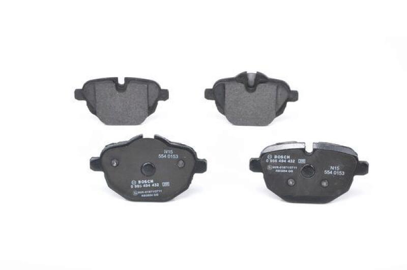 BOSCH Brake Pad Set, disc brake