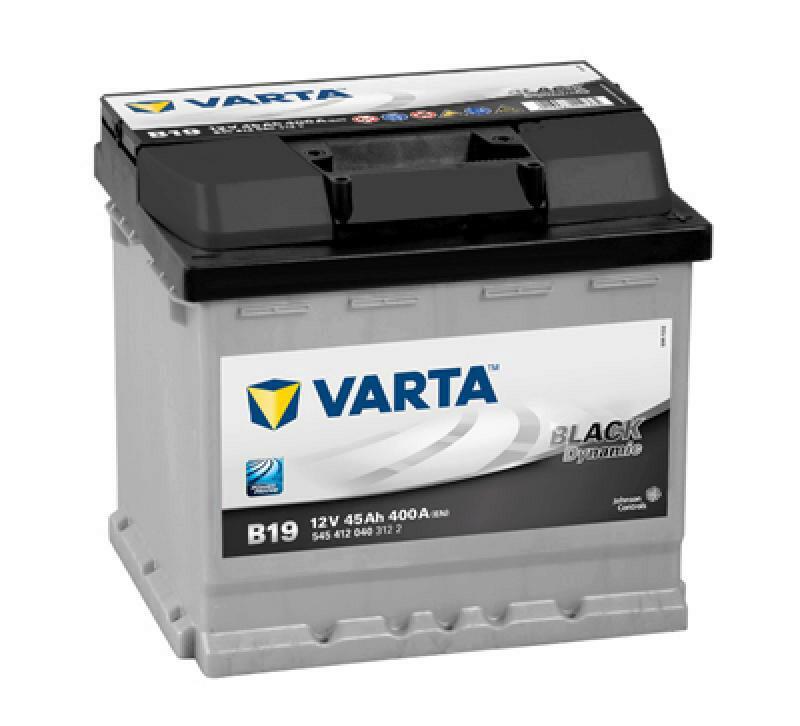 VARTA Starterbatterie BLACK dynamic