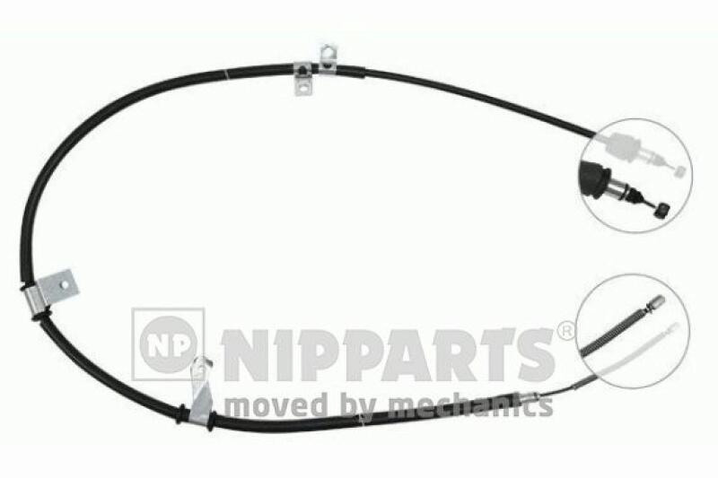 NIPPARTS Cable, parking brake