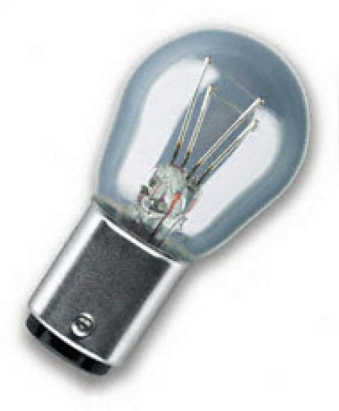 OSRAM Bremsleuchte 2 Faden Glühbirne