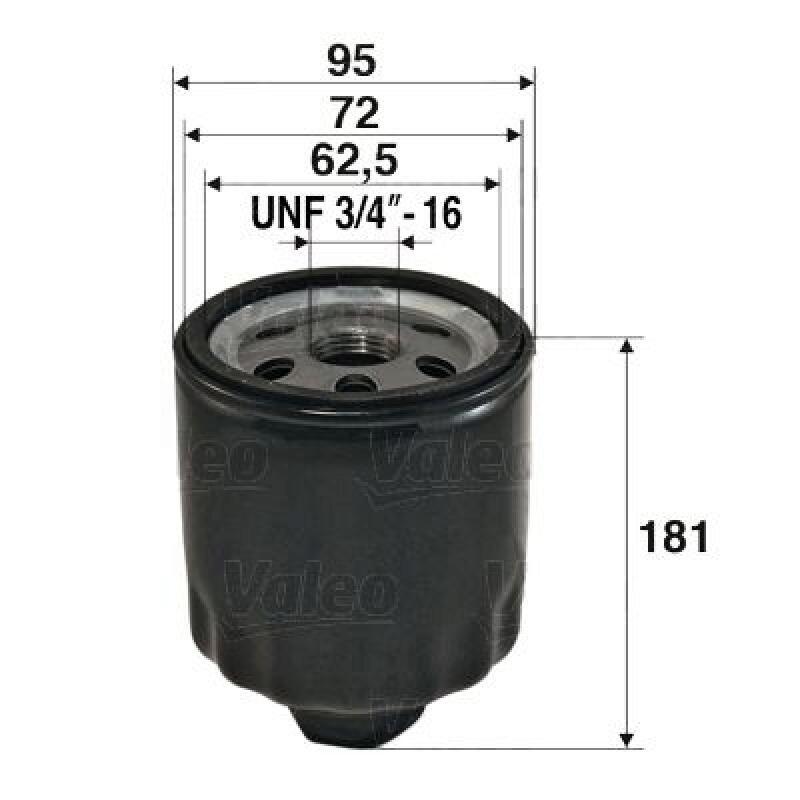 VALEO Ölfilter
