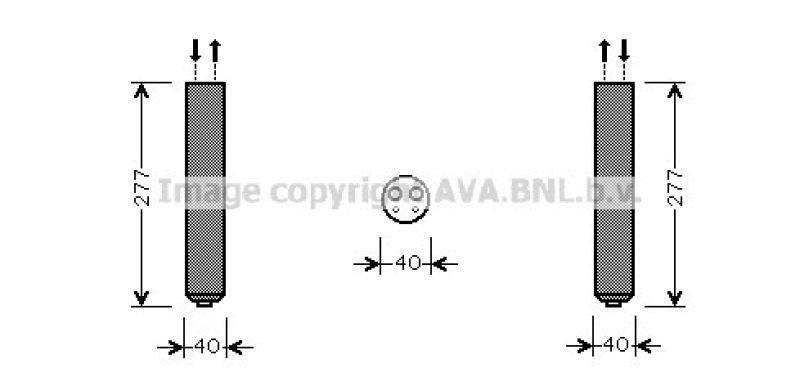 AVA QUALITY COOLING Trockner, Klimaanlage