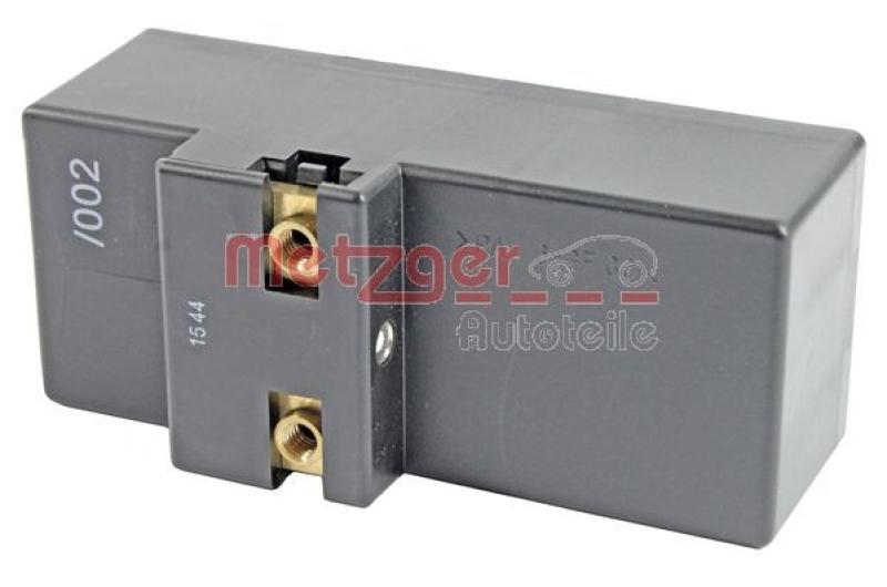 METZGER Steuergerät, Elektrolüfter (Motorkühlung) Original Ersatzteil