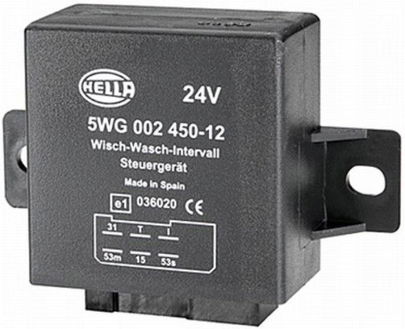 HELLA Relais, Wisch-Wasch-Intervall