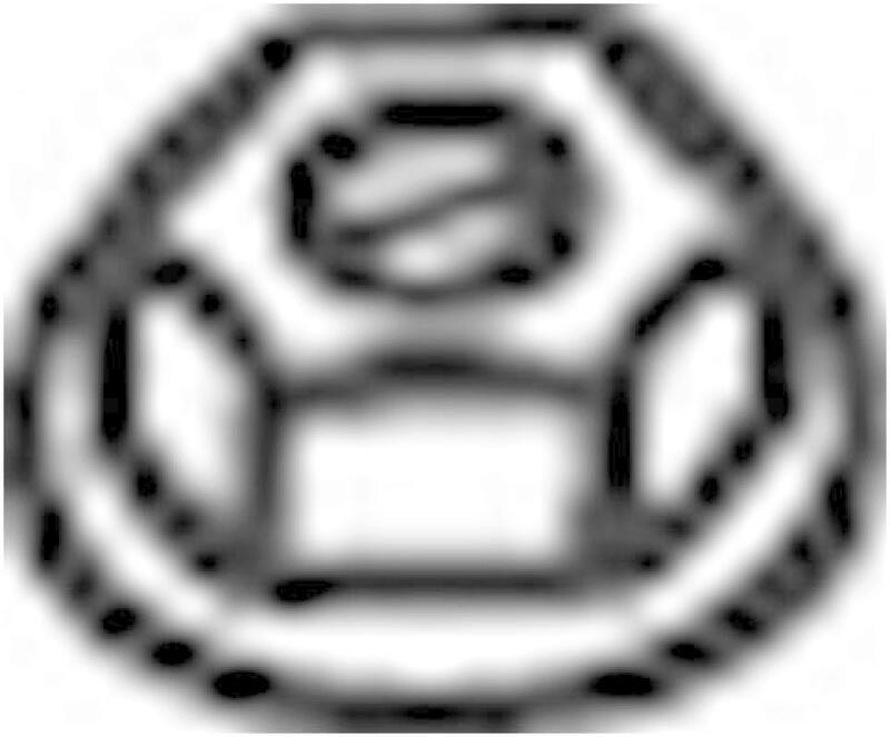 BOSAL Mutter, Abgaskrümmer