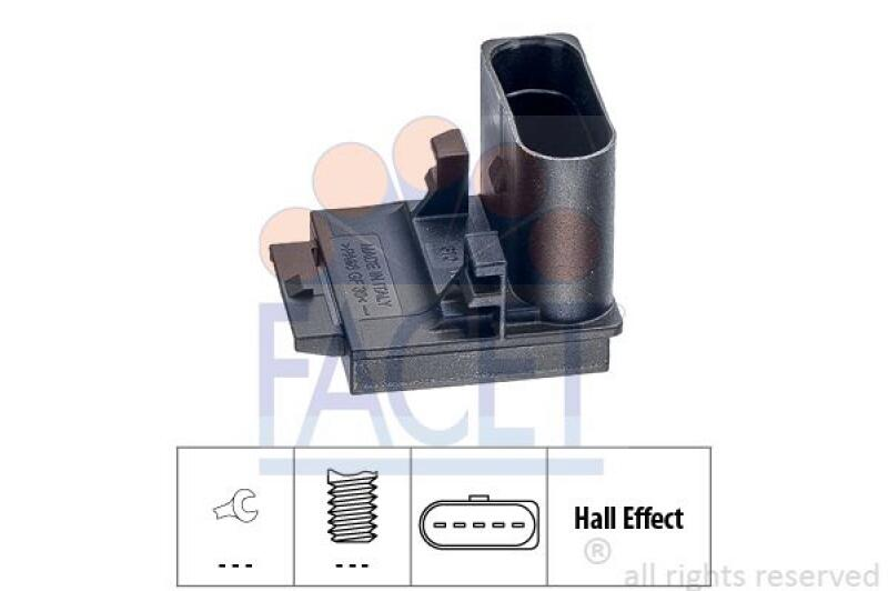 FACET Schalter, Kupplungsbetätigung (GRA)