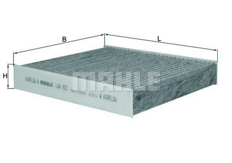 MAHLE ORIGINAL Filter, Innenraumluft