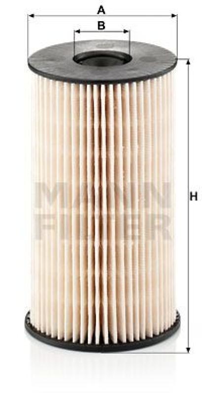 MANN-FILTER Fuel filter