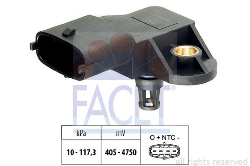 FACET Luftdrucksensor, Höhenanpassung