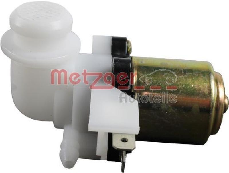 METZGER Waschwasserpumpe, Scheibenreinigung