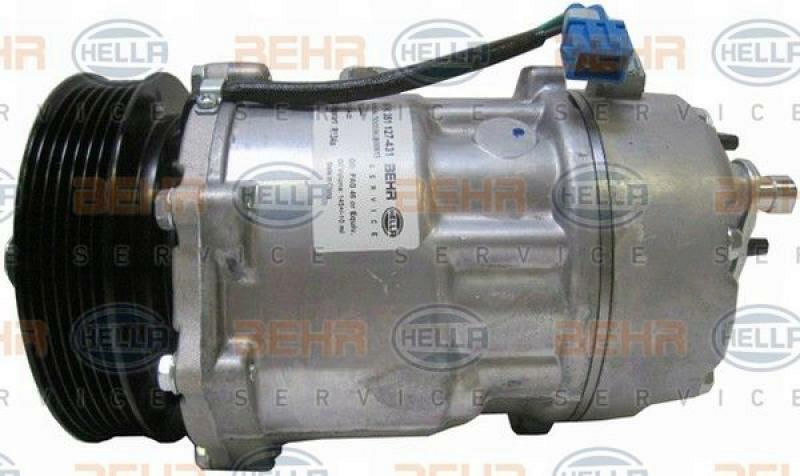 HELLA Kompressor, Klimaanlage BEHR HELLA SERVICE