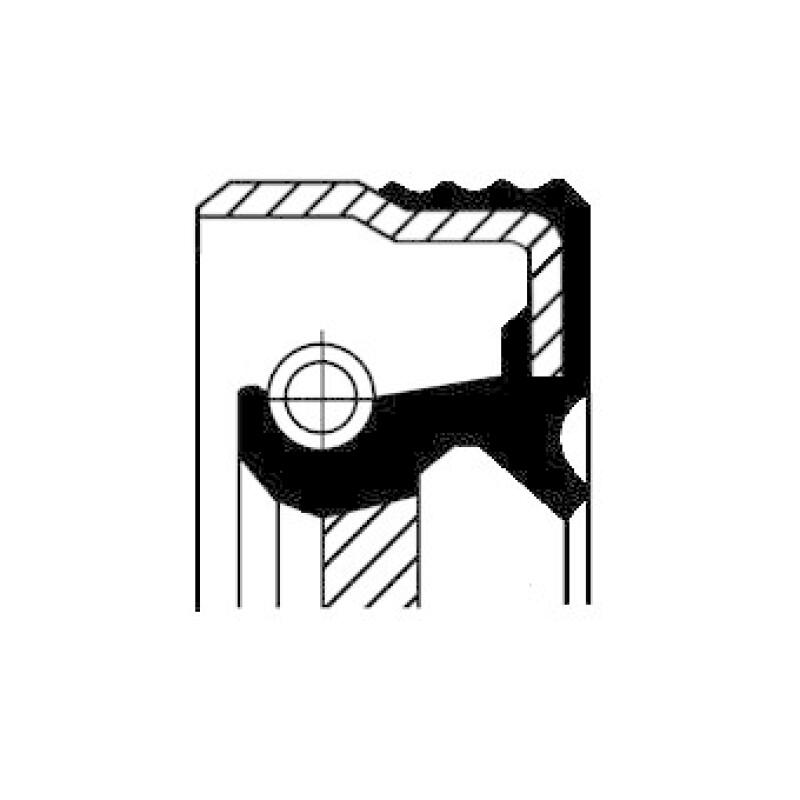 CORTECO Wellendichtring, Automatikgetriebe