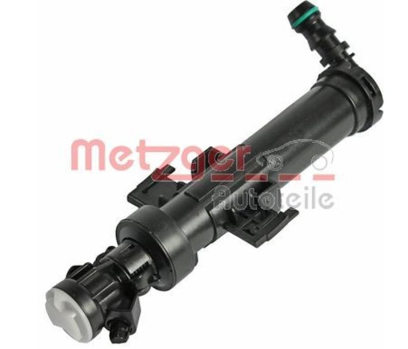METZGER Waschwasserdüse, Scheinwerferreinigung Original Ersatzteil