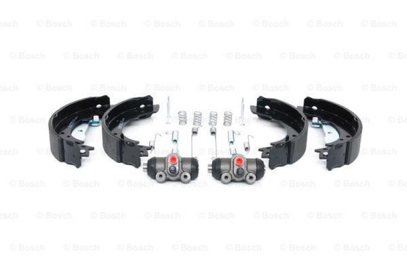 BoschBremsbackensatz KIT SUPERPRO Ø 228 mm vormontiert mit Zubehör Hinten