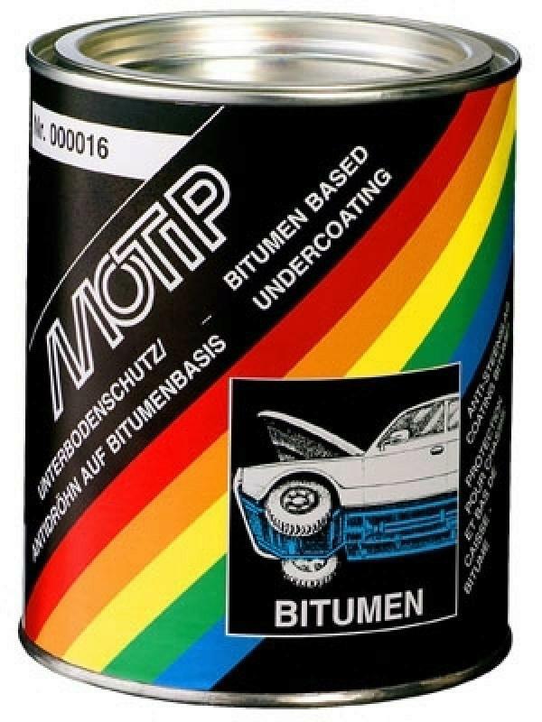 MOTIP Unterbodenschutz schwarz Bitumen 2500ml