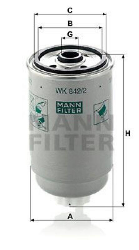 MANN-FILTER Kraftstofffilter