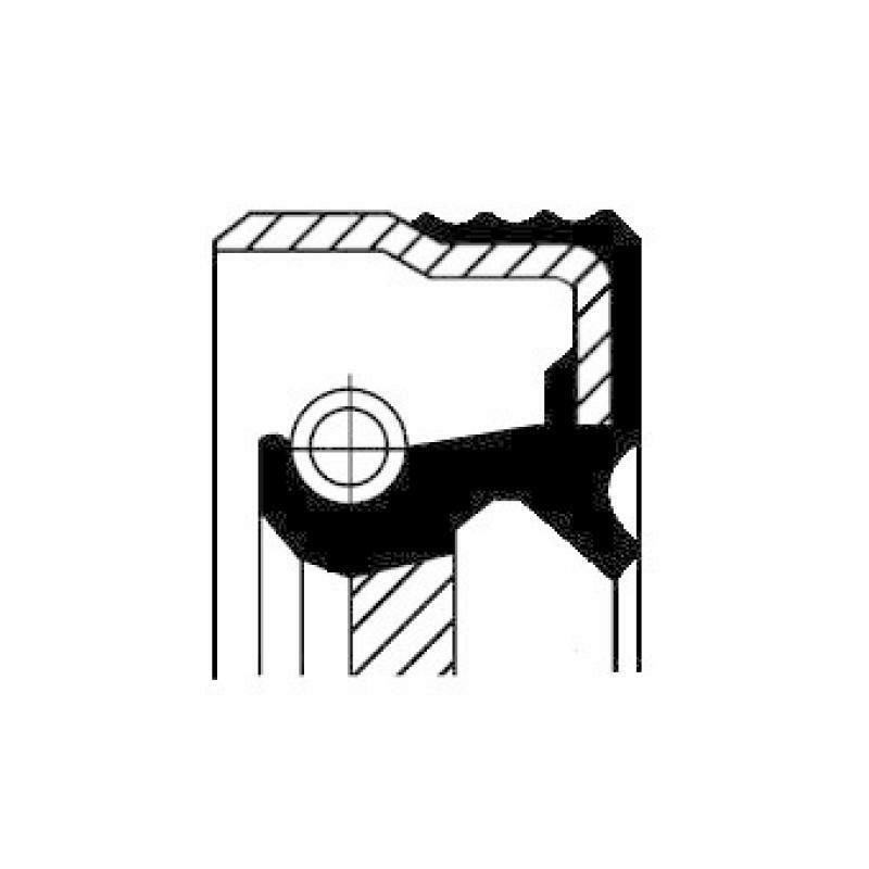CORTECO Dichtring, Kompressor
