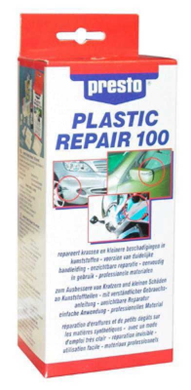 PRESTO Reparatursatz, Kunststoffreparatur Plastic Rep.Set
