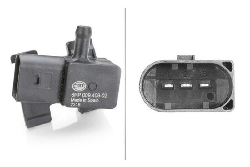 HELLA Sensor, Abgasdruck
