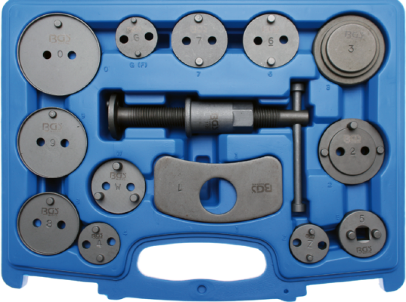 BGS Turn/Reset Tool Set, brake caliper piston