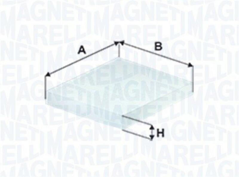 MAGNETI MARELLI Filter, Innenraumluft