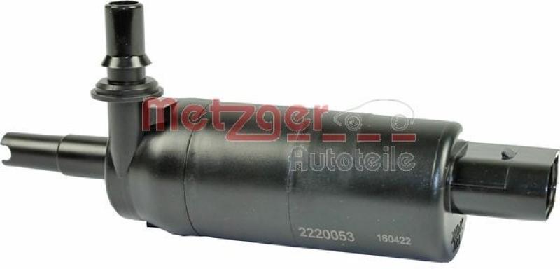 METZGER Waschwasserpumpe, Scheinwerferreinigung