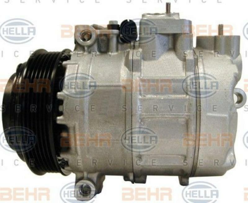 HELLA Kompressor, Klimaanlage BEHR HELLA SERVICE Version ALTERNATIVE