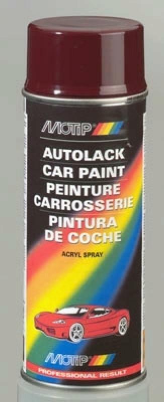 MOTIP Kombinationslack Autolack Lackspray Kompaktfarbe grau 400ml