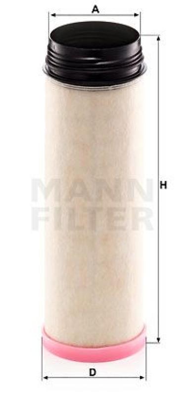 MANN-FILTER Sekundärluftfilter NLG Pico