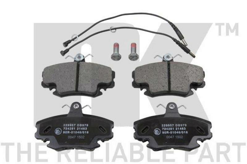 NK Brake Pad Set, disc brake