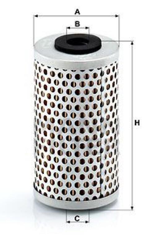 MANN-FILTER Hydraulikfilter, Lenkung