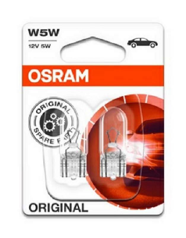 OSRAM Glühlampe Kennzeichenleuchte