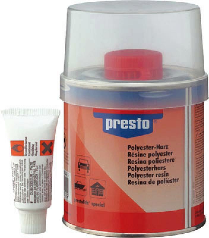 PRESTO Polyesterharz 1000g + Härter