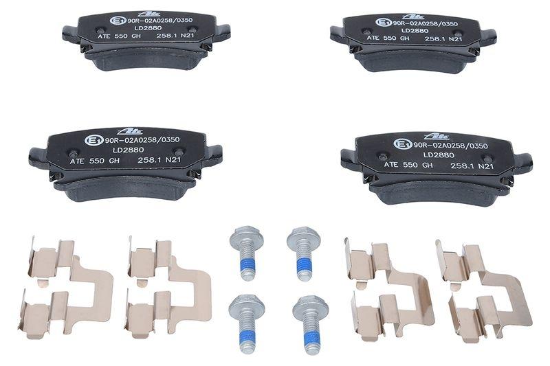 ATE Brake Pad Set, disc brake ATE Ceramic