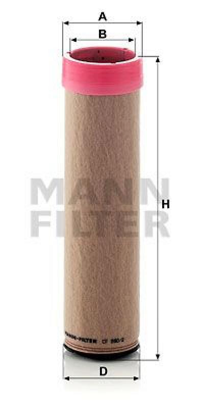 MANN-FILTER Sekundärluftfilter