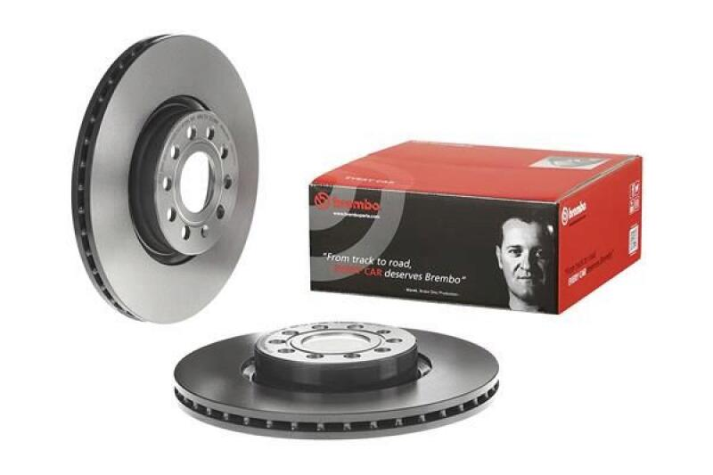 2x BREMBO Bremsscheibe COATED DISC LINE