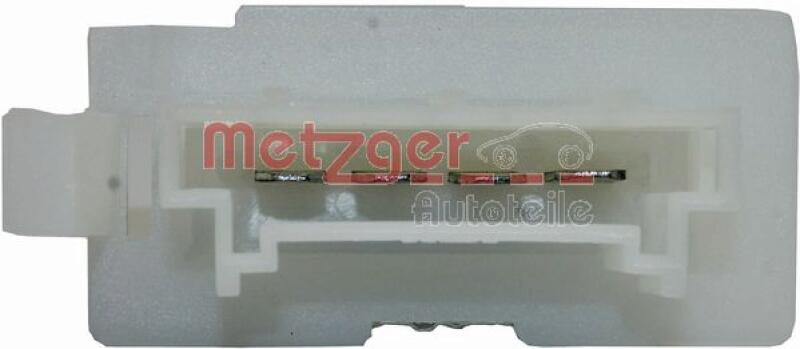 METZGER Resistor, interior blower